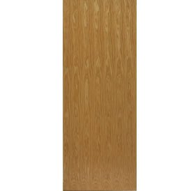 JBKind Oak Real Wood Veneered flush door