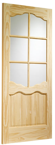 XL Joinery Clear Pine Riviera with Clear Glass