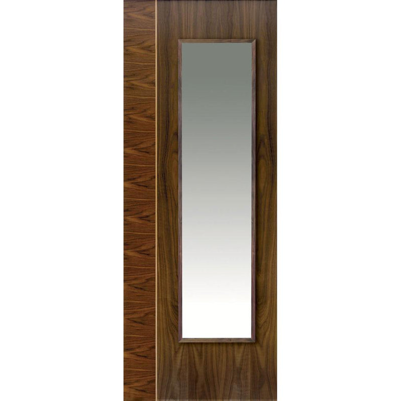 JBKind Walnut Edras with Clear Glass