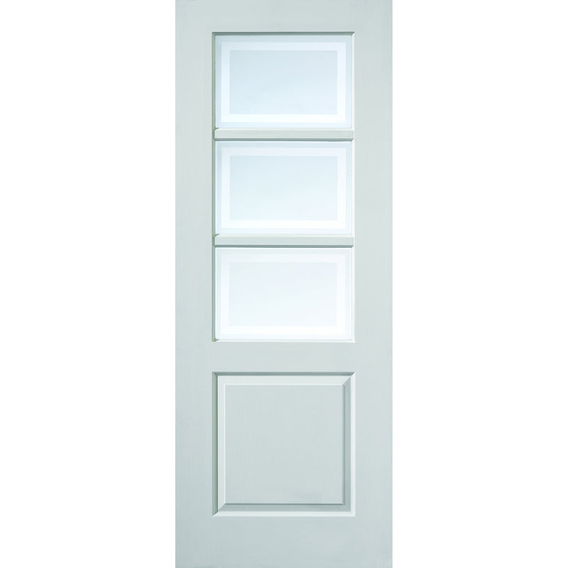 JBKind White Andora with Etched Glass