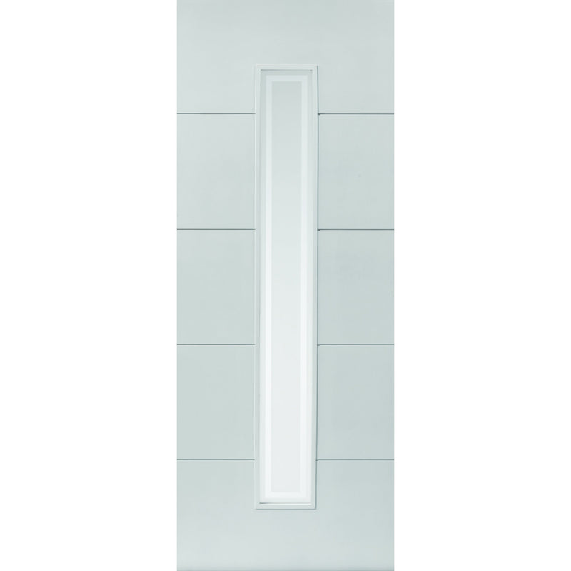 JBKind White Dominion with Etched Glass