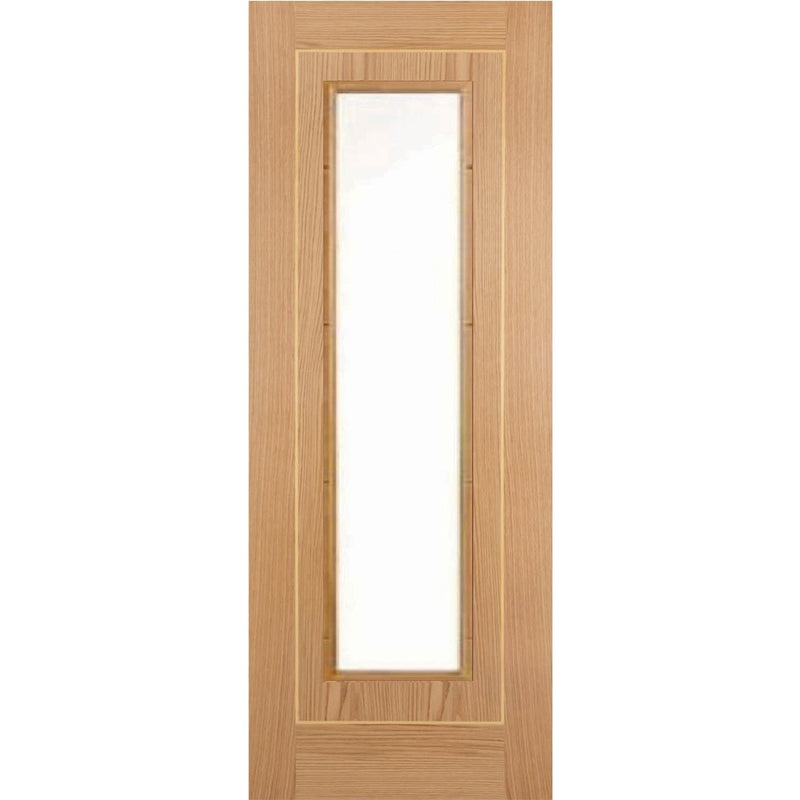 JBKind Oak Minerva with Clear Bevelled Glass