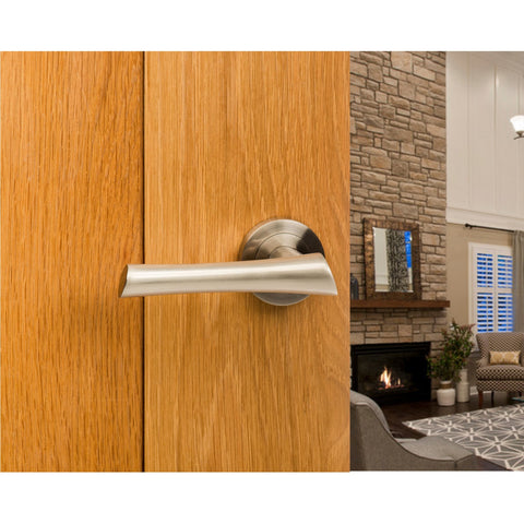 Atlantic UK Corsica Door Handle on Rose