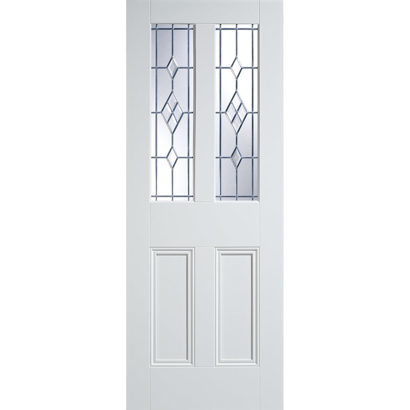 LPD White Malton with ABE-Lead Glass and Bolection mouldings