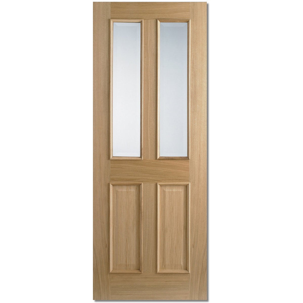 LPD Oak Richmond RM2S Glazed with Clear Bevelled Glass