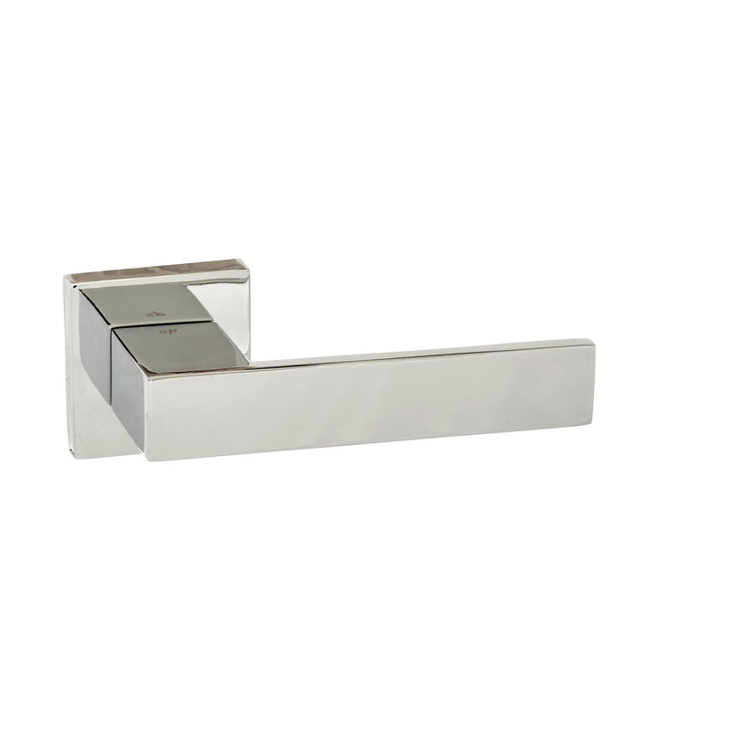 Atlantic UK Panetti Polished Chrome Door Handle on Rose