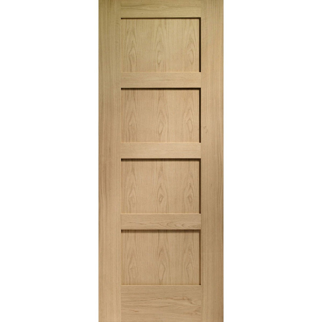 XL Joinery Oak Shaker 4 Panel