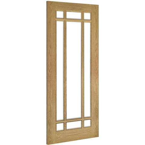 Deanta Oak Kerry with clear bevelled glass