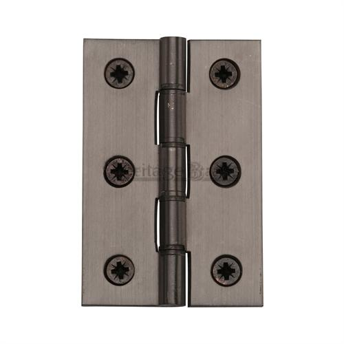 Matt Bronze Finish Double Phosphor Washered hinges (sold in pairs)