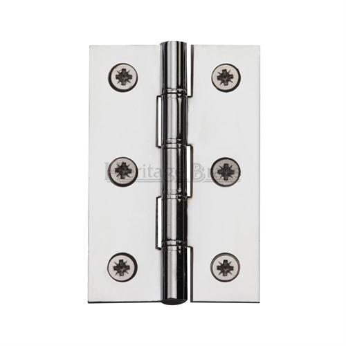 Polished Chrome Double Phosphor Washered hinges (sold in pairs)