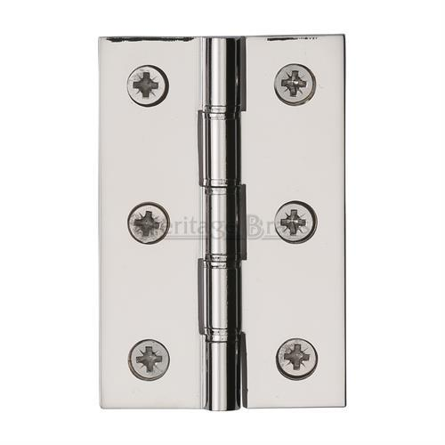 Polished Nickel Finish Double Phosphor Washered hinges (sold in pairs)