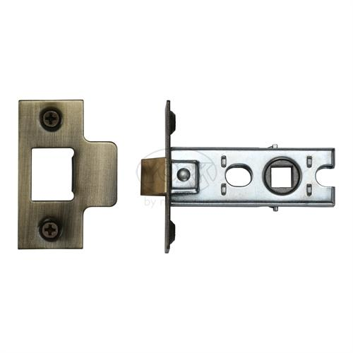"M.Marcus Antique Finish 2.5"" Standard duty tubular latch (bolt through)"