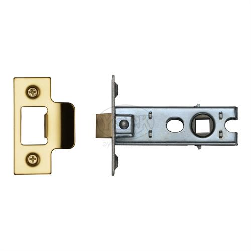 "M.Marcus Brass Finish 3"" Standard duty tubular latch (bolt through)"