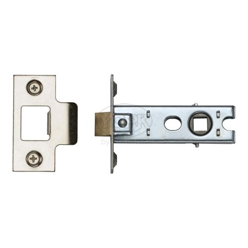 "M.Marcus Polished Chrome/Nickel Finish 3"" Standard duty tubular latch (bolt through)"