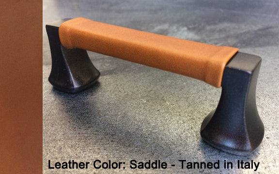"3"" Minneapolis Cabinet Pull in Black with Bronze Sparkles Finish"