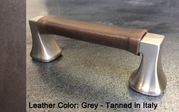 "3-3/4"" Minneapolis Cabinet Pull in Brushed Nickel Finish"