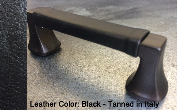 "3-3/4"" Minneapolis Cabinet Pull in Black with Bronze Sparkles Finish"