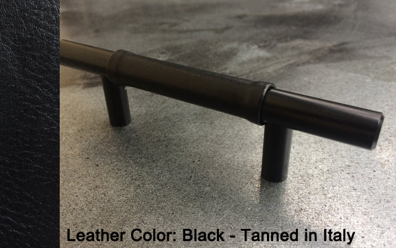 "3-3/4"" Seattle Cabinet Pull in Flat Black Finish"