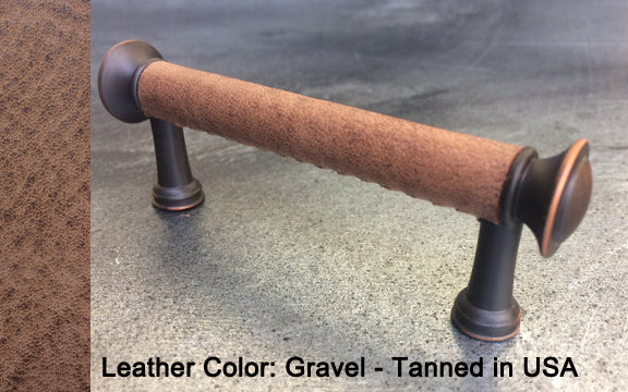 "3"" Cleveland Cabinet Pull in Black with Bronze/Copper Finish"