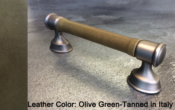 "5"" Anchorage Cabinet Pull in Heirloom Silver/Nickel Finish"