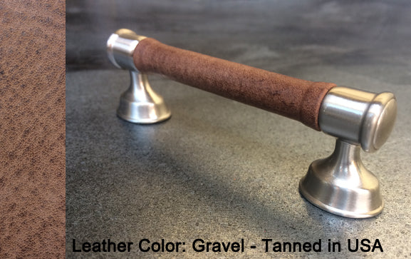 "5"" Anchorage Cabinet Pull in Satin Nickel Finish"