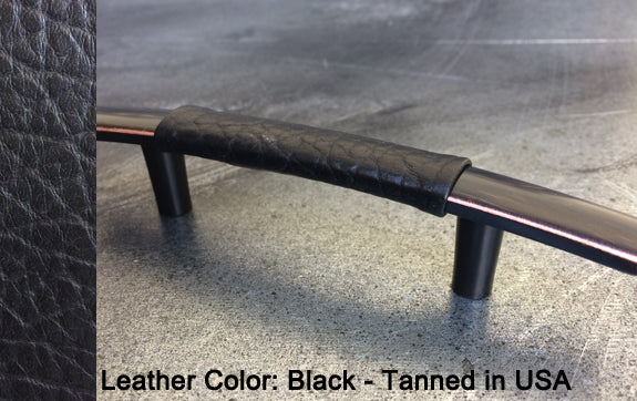 "3"" Chicago Cabinet Pull in Black with Bronze/Copper Highlights Finish"