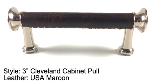 "3"" Cleveland Cabinet Pull in Polished Chrome Finish"