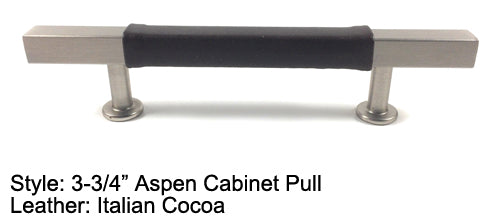 "3-3/4"" Aspen Cabinet Pull in Stainless Steel"