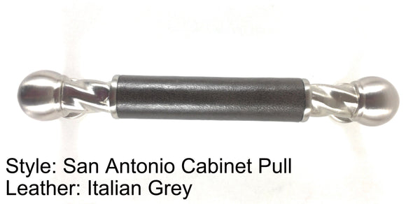 "3-3/4"" San Antonio Cabinet Pull in Satin Nickel Finish"