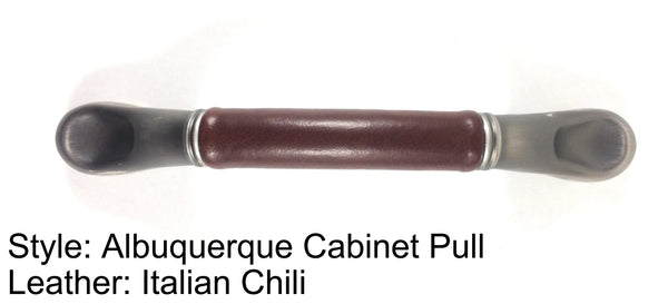 "3"" Albuquerque Cabinet Pull in Heirloom Silver/Nickel Finish"