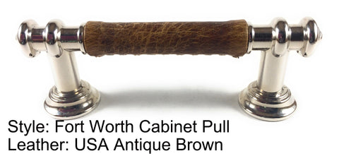 "3"" Fort Worth Cabinet Pull in Polished Nickel Finish"