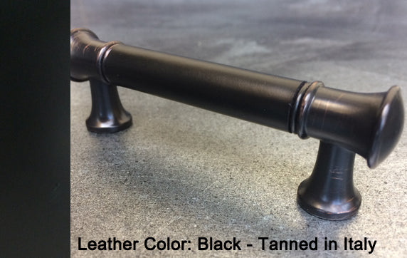 "3"" San Diego Cabinet Pull in Black Antique Finish"