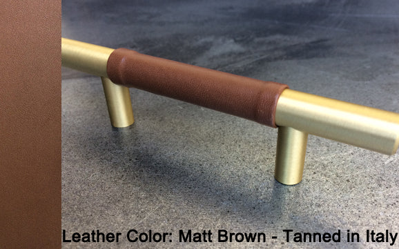 "3"" Seattle PLUS Cabinet Pull in Matt Gold Finish"