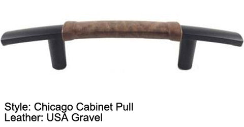 "3"" Chicago Cabinet Pull in Flat Black Finish"