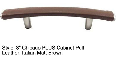 "3"" Chicago PLUS Cabinet Pull in Satin Nickel Finish"