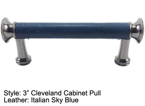 "3"" Cleveland Cabinet Pull in Pewter Finish"
