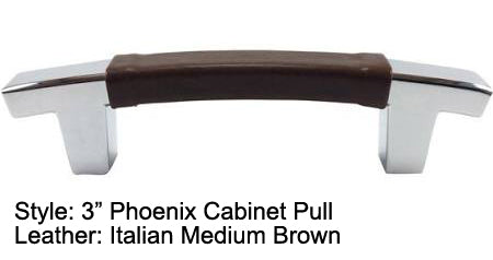 "3"" Phoenix Cabinet Pull in Polished Chrome Finish"