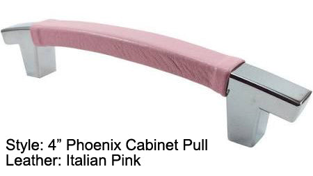 "4"" Phoenix Cabinet Pull in Polished Chrome Finish"