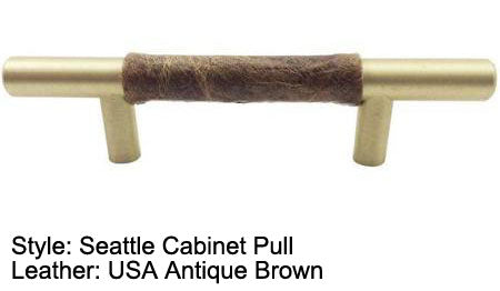 "3"" Seattle Cabinet Pull in Matt Gold Finish"