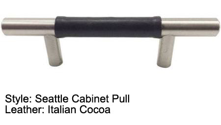 "3"" Seattle Cabinet Pull in Brushed Satin Nickel Finish"