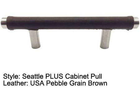 "3"" Seattle PLUS Cabinet Pull in Brushed Satin Nickel Finish"