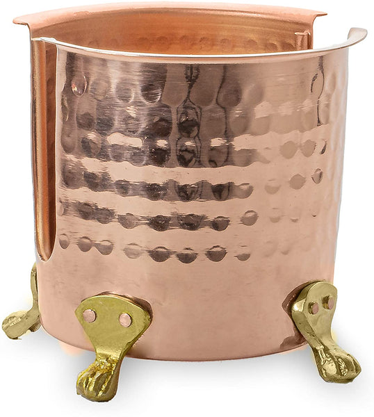 Monarch Abode Pure Copper Hand Hammered Sponge Holder