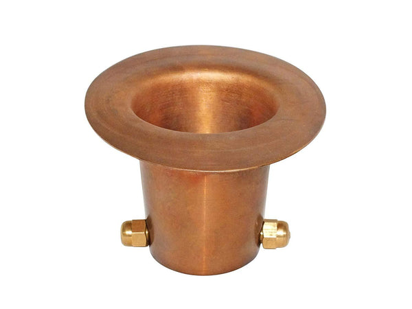Monarch Rain Chains Pure Copper Gutter Adapter (Large)