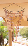 Monarch Pure Copper Cascading Leaves Wind Chime