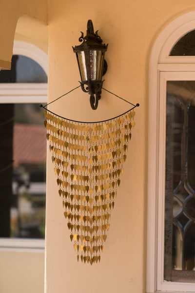 Monarch Pure Brass Tinkling Leaves Wind Chime