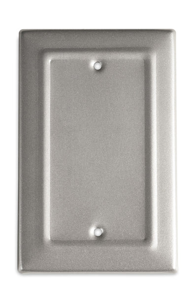 Monarch Abode Architectural Pewter Blank Wall Plate / Switch Plate Hardware > Wall Plates > Metal Monarch Abode