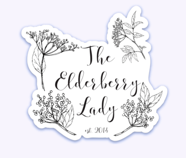 The Elderberry Lady Magnet