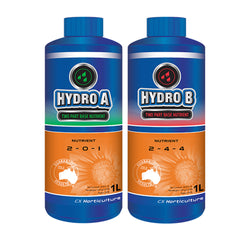 CX Horticulture Hydro Grow Bloom A&B