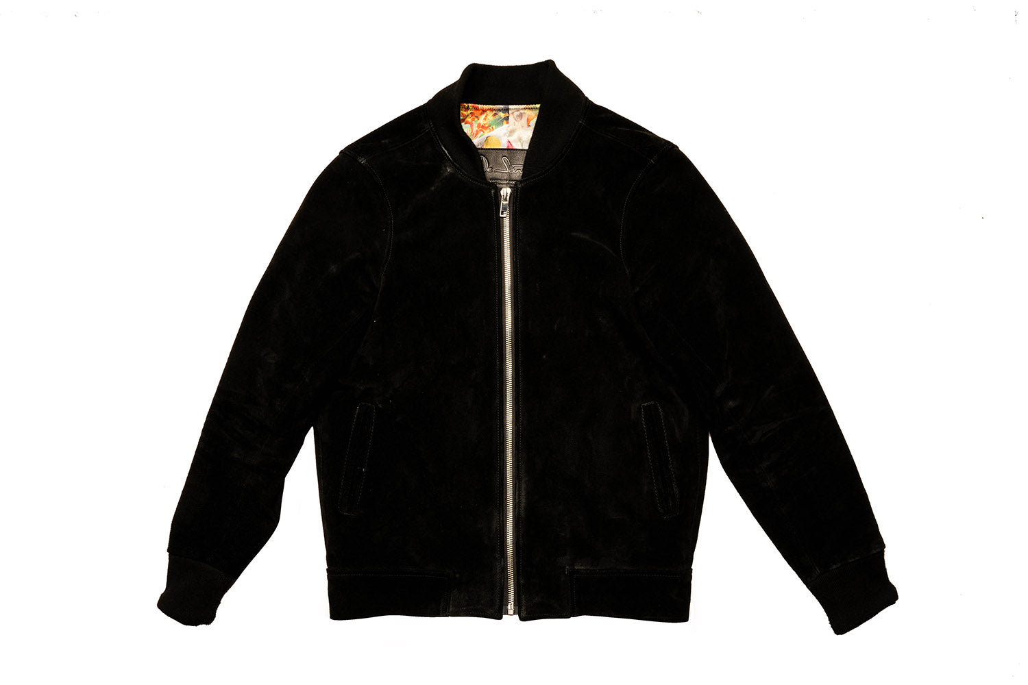 CUSTOM CABRINI BOMBER LEATHER JACKET