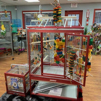 Stainless steel and aluminum cages - Macaws and Parrots For sale